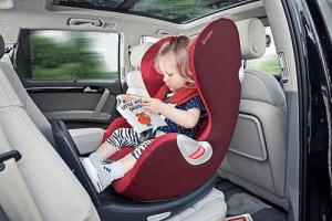 Sillas de auto para bebés: tipos de sillas y reglamento