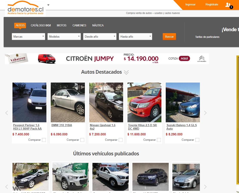 Demotores.com se encuentra presente en tres países de latinoamérica