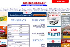 Las páginas de autos usados que más se visitan en Chile